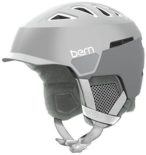 スノーボード ウィンタースポーツ 海外モデル ヨーロッパモデル アメリカモデル SW00D17STE1 Bern Women's Heist Brim Helmet (Satin Teal Green with Grey Liner, Small)スノーボード ウィンタースポーツ 海外モデル ヨーロッパモデル アメリカモデル SW00D17STE1