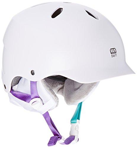 スノーボード ウィンタースポーツ 海外モデル ヨーロッパモデル アメリカモデル W5ESWI BERN Lenox EPS Thin Shell Visor Helmet - Women's Stain White, XS/Sスノーボード ウィンタースポーツ 海外モデル ヨーロッパモデル アメリカモデル W5ESWI
