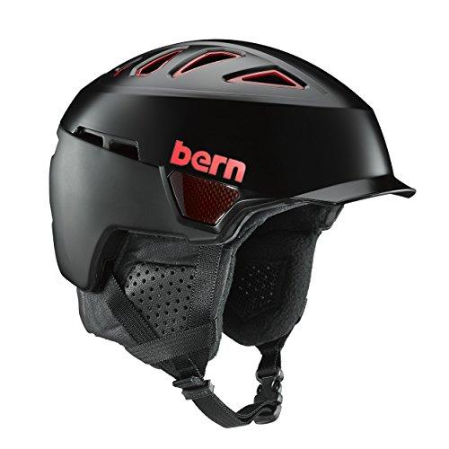 スノーボード ウィンタースポーツ 海外モデル ヨーロッパモデル アメリカモデル SM00C17CRB2 BERN Men's Heist Brim Carbon Helmet (Medium)スノーボード ウィンタースポーツ 海外モデル ヨーロッパモデル アメリカモデル SM00C17CRB2