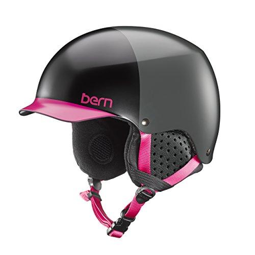 スノーボード ウィンタースポーツ 海外モデル ヨーロッパモデル アメリカモデル SW04E17SBH1 【送料無料】Bern Muse Snow Helmet (Satin Black Hatstyle with Black Linスノーボード ウィンタースポーツ 海外モデル ヨーロッパモデル アメリカモデル SW04E17SBH1