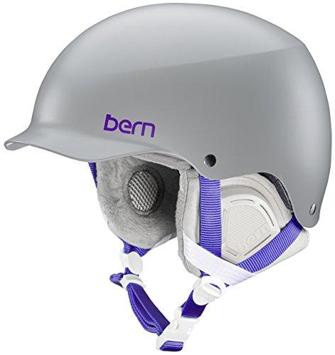 スノーボード ウィンタースポーツ 海外モデル ヨーロッパモデル アメリカモデル Bern Bern Muse Snow Helmet (Satin Grey MIPS with Grey Liner, Small)スノーボード ウィンタースポーツ 海外モデル ヨーロッパモデル アメリカモデル Bern