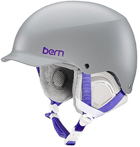 スノーボード ウィンタースポーツ 海外モデル ヨーロッパモデル アメリカモデル Bern Bern Muse Snow Helmet (Satin Grey MIPS with Grey Liner, Medium)スノーボード ウィンタースポーツ 海外モデル ヨーロッパモデル アメリカモデル Bern