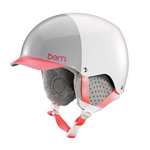 スノーボード ウィンタースポーツ 海外モデル ヨーロッパモデル アメリカモデル SW04E17SWH1 BERN Muse Snow Helmet - Satin White Hatstyle/Grey Liner Smallスノーボード ウィンタースポーツ 海外モデル ヨーロッパモデル アメリカモデル SW04E17SWH1