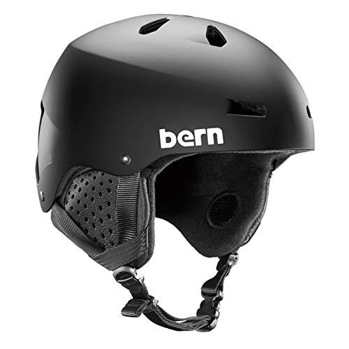 スノーボード ウィンタースポーツ 海外モデル ヨーロッパモデル アメリカモデル BERN - Winter Macon EPS Snow Helmet, MIPS Matte Black with Black Liner, Largeスノーボード ウィンタースポーツ 海外モデル ヨーロッパモデル アメリカモデル