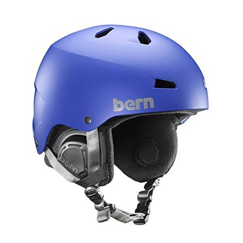 スノーボード ウィンタースポーツ 海外モデル ヨーロッパモデル アメリカモデル 【送料無料】BERN Men's Macon MIPS Snow Helmet Matte Cobalt Blue Sスノーボード ウィンタースポーツ 海外モデル ヨーロッパモデル アメリカモデル
