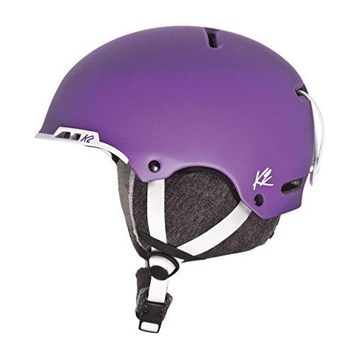 スノーボード ウィンタースポーツ 海外モデル ヨーロッパモデル アメリカモデル S1508009034 【送料無料】K2 Meridian Ski Helmet, Purple, Mediumスノーボード ウィンタースポーツ 海外モデル ヨーロッパモデル アメリカモデル S1508009034
