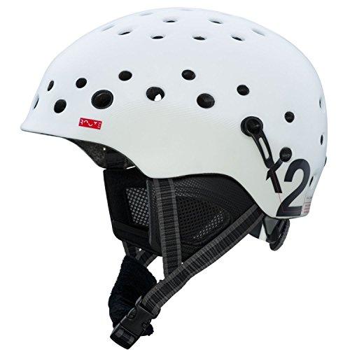 スノーボード ウィンタースポーツ 海外モデル ヨーロッパモデル アメリカモデル S1408005022 【送料無料】K2 Route Ski Helmet, White, Smallスノーボード ウィンタースポーツ 海外モデル ヨーロッパモデル アメリカモデル S1408005022