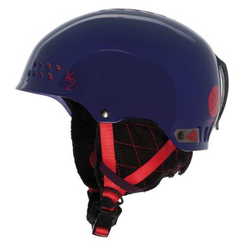 スノーボード ウィンタースポーツ 海外モデル ヨーロッパモデル アメリカモデル S1308008032 K2 Emphasis Ski Helmet, Purple, Smallスノーボード ウィンタースポーツ 海外モデル ヨーロッパモデル アメリカモデル S1308008032