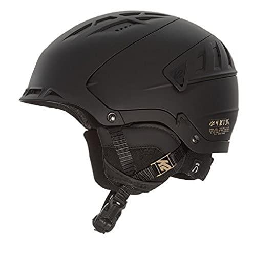 スノーボード ウィンタースポーツ 海外モデル ヨーロッパモデル アメリカモデル 10A4001.1.1 【送料無料】K2 Virtue Ski Helmet - Black Smallスノーボード ウィンタースポーツ 海外モデル ヨーロッパモデル アメリカモデル 10A4001.1.1