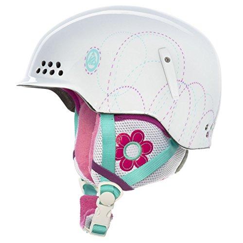 スノーボード ウィンタースポーツ 海外モデル ヨーロッパモデル アメリカモデル S1308011031 K2 Illusion Ski Helmet, White, X-Smallスノーボード ウィンタースポーツ 海外モデル ヨーロッパモデル アメリカモデル S1308011031