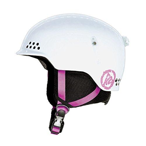 スノーボード ウィンタースポーツ 海外モデル ヨーロッパモデル アメリカモデル K2 K2 Illusion Helmet - Kid's White Smallスノーボード ウィンタースポーツ 海外モデル ヨーロッパモデル アメリカモデル K2