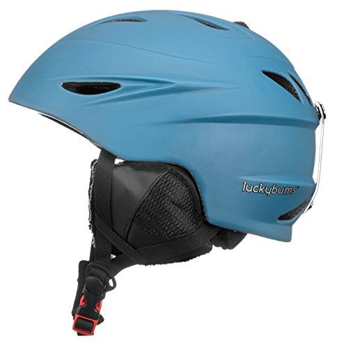 スノーボード ウィンタースポーツ 海外モデル ヨーロッパモデル アメリカモデル 060GBS Lucky Bums Alpine Men Women Audio Chip Ready Ski Helmet, Glacier Blue, Sスノーボード ウィンタースポーツ 海外モデル ヨーロッパモデル アメリカモデル 060GBS