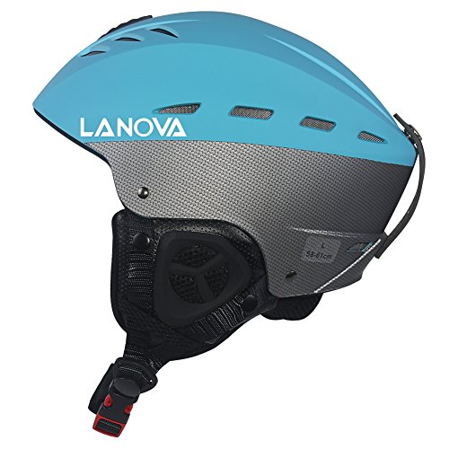 スノーボード ウィンタースポーツ 海外モデル ヨーロッパモデル アメリカモデル Lanova Ski Snow Snowboard Skate Helmet for Men Women (Blue, L)スノーボード ウィンタースポーツ 海外モデル ヨーロッパモデル アメリカモデル