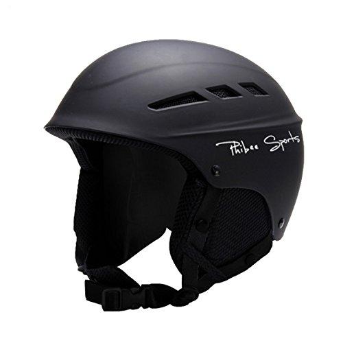 スノーボード ウィンタースポーツ 海外モデル ヨーロッパモデル アメリカモデル PHIBEE Unisex Snow Sport Lightweight EPS Outdoor Ski Helmet Black Sスノーボード ウィンタースポーツ 海外モデル ヨーロッパモデル アメリカモデル