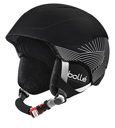 スノーボード ウィンタースポーツ 海外モデル ヨーロッパモデル アメリカモデル 30992 【送料無料】Bolle B-Lieve Helmets, Soft Black/Silver, 51-53 cmスノーボード ウィンタースポーツ 海外モデル ヨーロッパモデル アメリカモデル 30992