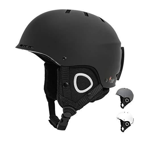 スノーボード ウィンタースポーツ 海外モデル ヨーロッパモデル アメリカモデル 【送料無料】Vihir Adult Winter Ski Snow Helmet 2-in-1 Convertible Sports Skateboard Helmet forスノーボード ウィンタースポーツ 海外モデル ヨーロッパモデル アメリカモデル