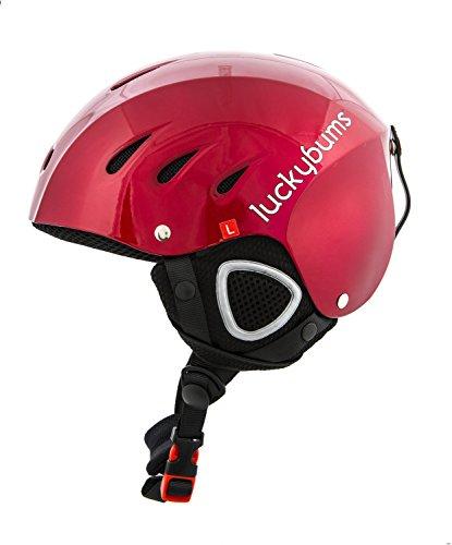 スノーボード ウィンタースポーツ 海外モデル ヨーロッパモデル アメリカモデル 123RDM 【送料無料】Lucky Bums Snow Sport Helmet, Red, Mediumスノーボード ウィンタースポーツ 海外モデル ヨーロッパモデル アメリカモデル 123RDM