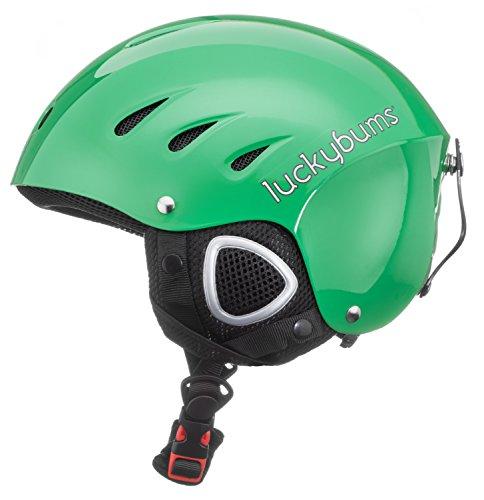 スノーボード ウィンタースポーツ 海外モデル ヨーロッパモデル アメリカモデル 123GRL 【送料無料】Lucky Bums Snow Sports Helmet (Green, Large)スノーボード ウィンタースポーツ 海外モデル ヨーロッパモデル アメリカモデル 123GRL