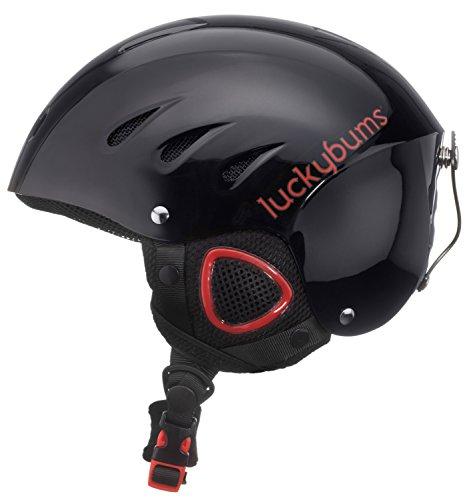 スノーボード ウィンタースポーツ 海外モデル ヨーロッパモデル Snow アメリカモデル アメリカモデル Snow Sport Sport Lucky Bums Snow Sport Helmet, Black/Red, Largeスノーボード ウィンタースポーツ 海外モデル ヨーロッパモデル アメリカモデル Snow Sport, ギフトパーク/果物フルーツ通販:0575e821 --- sunward.msk.ru