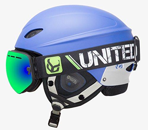 スノーボード ウィンタースポーツ 海外モデル ヨーロッパモデル アメリカモデル phantombluelargesu Phantom Helmet with Audio and Snow Supra Goggle (Blue, Large)スノーボード ウィンタースポーツ 海外モデル ヨーロッパモデル アメリカモデル phantombluelargesu