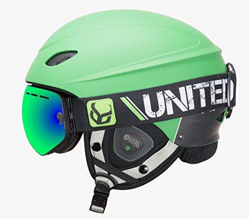 スノーボード 海外モデル ウィンタースポーツ Goggle 海外モデル (Green, ヨーロッパモデル アメリカモデル phantomgreenxlsu Phantom Helmet with Audio and Snow Supra Goggle (Green, X-Large)スノーボード ウィンタースポーツ 海外モデル ヨーロッパモデル アメリカモデル phantomgreenxlsu, サプリメントハウス:5817c0bd --- sunward.msk.ru