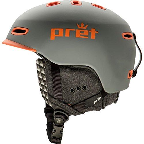 スノーボード ウィンタースポーツ 海外モデル ヨーロッパモデル アメリカモデル Pret Helmets Pret Helmets Cynic Helmet Rubber Smoked Grey, Sスノーボード ウィンタースポーツ 海外モデル ヨーロッパモデル アメリカモデル Pret Helmets