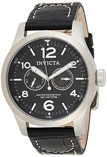 インヴィクタ インビクタ 腕時計 メンズ 0764 Invicta II Men's 0764 Stainless Steel Watch with Black Leather Bandインヴィクタ インビクタ 腕時計 メンズ 0764