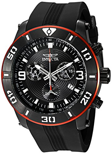 インヴィクタ インビクタ プロダイバー 腕時計 メンズ 19825 【送料無料】Invicta Men's 19825 Pro Diver Analog Display Swiss Quartz Black Watchインヴィクタ インビクタ プロダイバー 腕時計 メンズ 19825