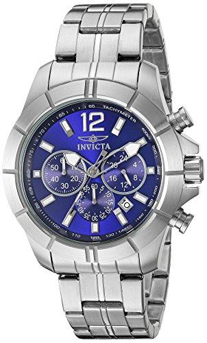 インヴィクタ インビクタ 腕時計 メンズ 21464 【送料無料】Invicta Men's 21464 Specialty Analog Display Japanese Quartz Silver Watchインヴィクタ インビクタ 腕時計 メンズ 21464