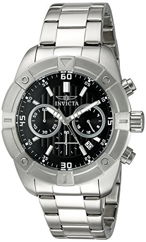 インヴィクタ インビクタ 腕時計 メンズ 21466 Invicta Men's 21466 Specialty Analog Display Japanese Quartz Silver-Tone Watchインヴィクタ インビクタ 腕時計 メンズ 21466