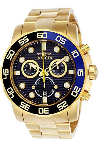 インヴィクタ インビクタ プロダイバー 腕時計 メンズ 21555 【送料無料】Invicta Men's 21555 Pro Diver 18k Gold Ion-Plated Stainless Steel Watch with Link Braceletインヴィクタ インビクタ プロダイバー 腕時計 メンズ 21555