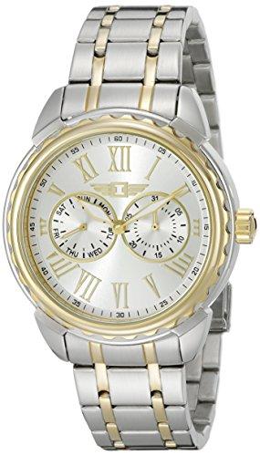 腕時計 インヴィクタ インビクタ メンズ 89052-002 【送料無料】I By Invicta Men's 89052-002 Two-Tone Stainless Steel Silver Dial Watch腕時計 インヴィクタ インビクタ メンズ 89052-002