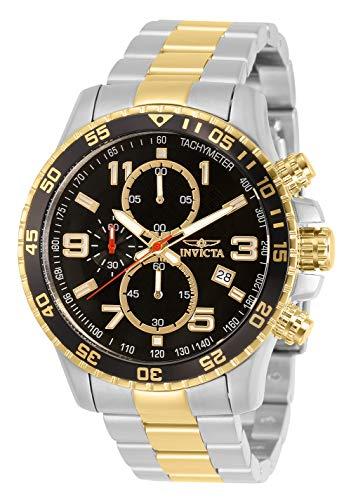 腕時計 インヴィクタ インビクタ メンズ 14876 【送料無料】Invicta Men's 14876 Specialty Chronograph 18k Gold Ion-Plated and Stainless Steel Watch腕時計 インヴィクタ インビクタ メンズ 14876
