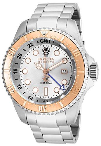 インヴィクタ インビクタ リザーブ 腕時計 メンズ 16964 【送料無料】Invicta Men's 16964 Reserve Hydromax Analog-Display Swiss Quartz Silver-Tone Watchインヴィクタ インビクタ リザーブ 腕時計 メンズ 16964