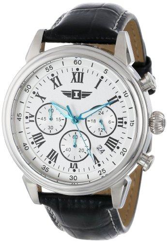 インヴィクタ インビクタ 腕時計 メンズ 90242-002 I By Invicta Men's 90242-002 Stainless Steel Watch with Black Leather Bandインヴィクタ インビクタ 腕時計 メンズ 90242-002