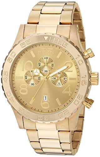 インヴィクタ インビクタ 腕時計 メンズ 1270 Invicta Men's 1270 Specialty Chronograph 18k Gold Ion-Plated Stainless Steel Watchインヴィクタ インビクタ 腕時計 メンズ 1270