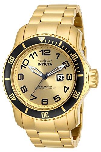 インヴィクタ インビクタ プロダイバー 腕時計 メンズ 15350 Invicta Men's 15350 Pro Diver Analog Display Japanese Quartz Gold Watchインヴィクタ インビクタ プロダイバー 腕時計 メンズ 15350