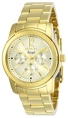 インヴィクタ インビクタ エンジェル 腕時計 レディース 12551 【送料無料】Invicta Women's 12551 Angel Analog Display Swiss Quartz Gold Watchインヴィクタ インビクタ エンジェル 腕時計 レディース 12551