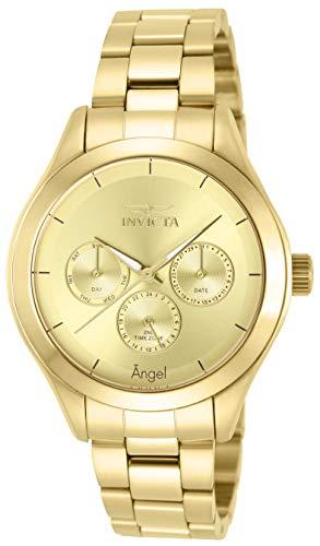 インヴィクタ インビクタ エンジェル 腕時計 レディース 12466 【送料無料】Invicta Women's 12466 Angel Gold-Tone Stainless Steel Watchインヴィクタ インビクタ エンジェル 腕時計 レディース 12466