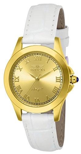 インヴィクタ インビクタ エンジェル 腕時計 レディース 14805 Invicta Women's 14805 Angel Analog Gold Ion-Plated Watch with Interchangeable Leather Bandsインヴィクタ インビクタ エンジェル 腕時計 レディース 14805