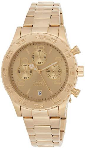 インヴィクタ インビクタ 腕時計 レディース 1279 Invicta Women's 1279 II Collection Chronograph Gold Dial 18k Gold Toned Stainless Steel Watchインヴィクタ インビクタ 腕時計 レディース 1279