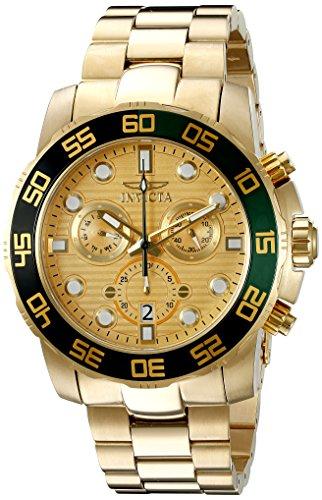 腕時計 インヴィクタ インビクタ プロダイバー メンズ 21554 【送料無料】Invicta Men's 21554 Pro Diver Analog Display Swiss Quartz Gold-ToneWatch腕時計 インヴィクタ インビクタ プロダイバー メンズ 21554