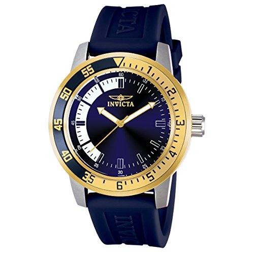 腕時計 インヴィクタ インビクタ メンズ 12847 【送料無料】Invicta Men's 12847 Specialty Stainless Steel Watch with Blue Band腕時計 インヴィクタ インビクタ メンズ 12847