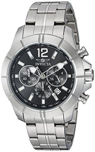 インヴィクタ インビクタ 腕時計 メンズ 21462 【送料無料】Invicta Men's 21462 Specialty Analog Display Japanese Quartz Silver Watchインヴィクタ インビクタ 腕時計 メンズ 21462