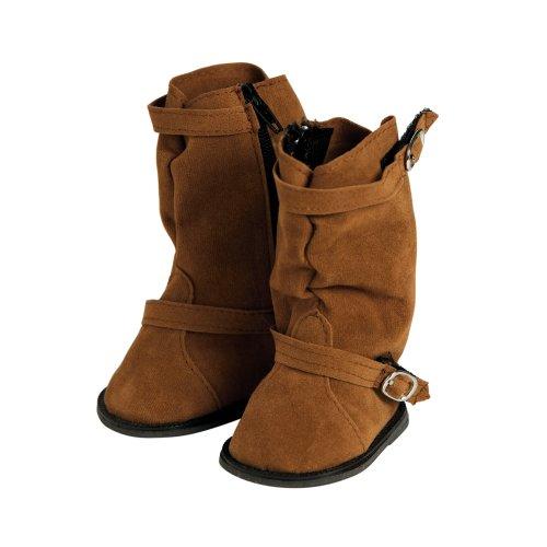 アドラベビードール 赤ちゃん リアル 本物そっくり おままごと 20553020 Adora Brown Slouchy Boot with Buckleアドラベビードール 赤ちゃん リアル 本物そっくり おままごと 20553020