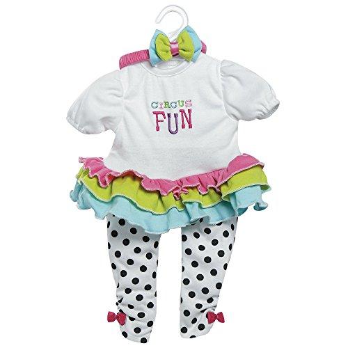 アドラベビードール 赤ちゃん リアル 本物そっくり おままごと 20016014 Adora Toddler Time Baby Circus Fun 20