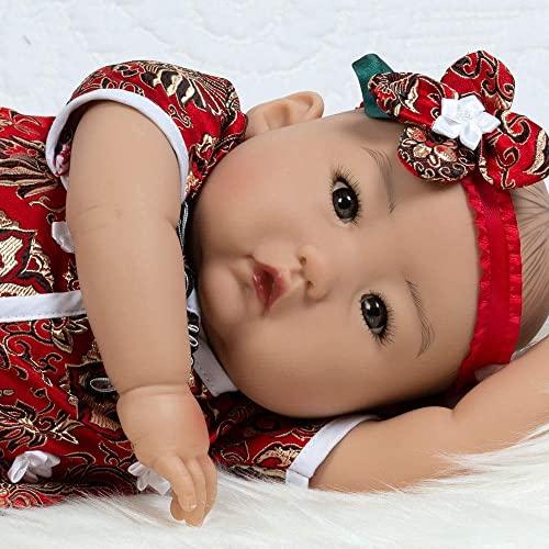 パラダイスギャラリーズ 赤ちゃん リアル 本物そっくり おままごと Paradise Galleries Lifelike Asian Reborn Baby Doll Mei, 20 inch Chinese Girl in GentleTouch Vinyl & Weighted Body, 4-Piece Sパラダイスギャラリーズ 赤ちゃん リアル 本物そっくり おままごと