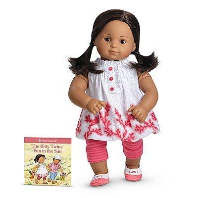 アメリカンガールドール 赤ちゃん おままごと ベビー人形 【送料無料】American Girl Bitty Baby/Twins Coral Cutie Outfitアメリカンガールドール 赤ちゃん おままごと ベビー人形