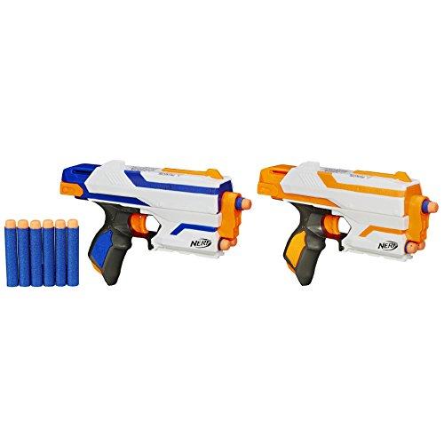 Nストライク 【送料無料】ナーフ ナーフ銃と12のダート Nerf サイドストライクブラスター 2パック エリート