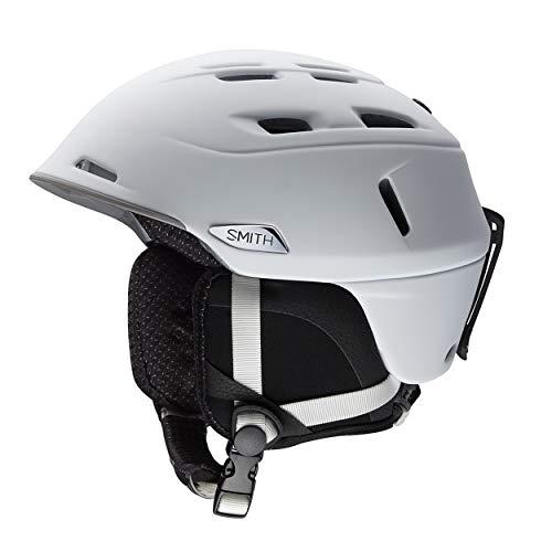 スノーボード ウィンタースポーツ 海外モデル ヨーロッパモデル アメリカモデル Camber Helmet Smith Optics Camber Adult Ski Snowmobile Helmet - Matte White/Mediumスノーボード ウィンタースポーツ 海外モデル ヨーロッパモデル アメリカモデル Camber Helmet